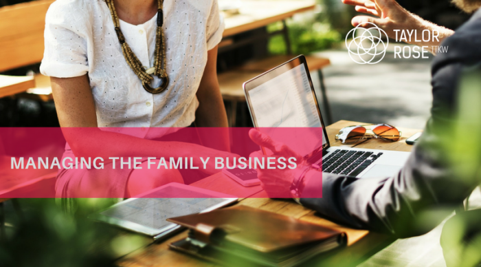 MANAGING THE FAMILY BUSINESS?