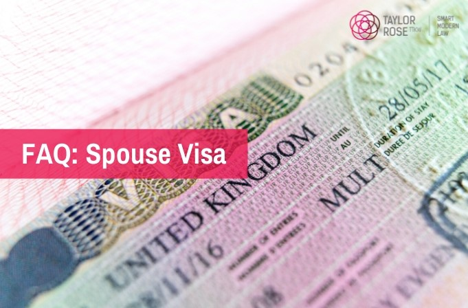 FAQ: Spouse Visa