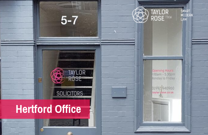 Taylor Rose TTKW Reopens Hertford Office