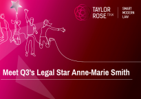 Legal Q3 2020 Star Award Winner - Anne-Marie Smith
