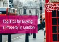 Buying a property in London - top five tips