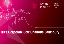 Corporate Q3 2020 Star Award Winner - Charlotte Sainsbury