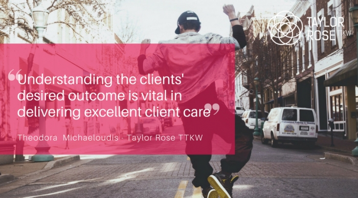 Solicitor Theodora Michaeloudis talks Client Care