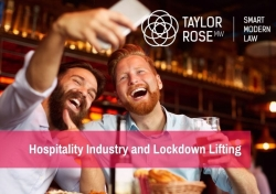 What are the next steps for the hospitality sector?