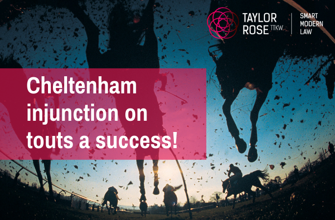 Cheltenham Racecourse - Victory against Ticket Touts