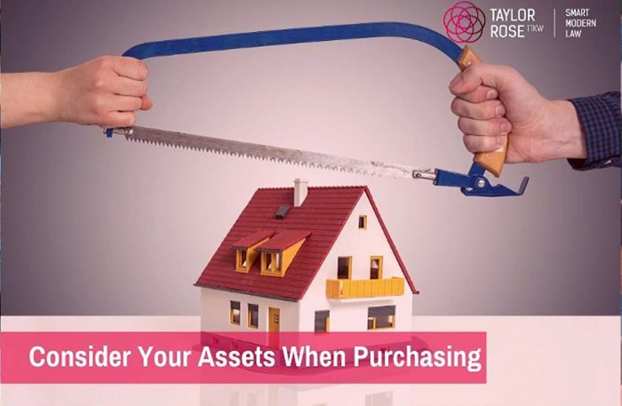 What should you consider when purchasing with a partner?