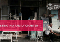 The Importance of a Family Charter for Family Businesses