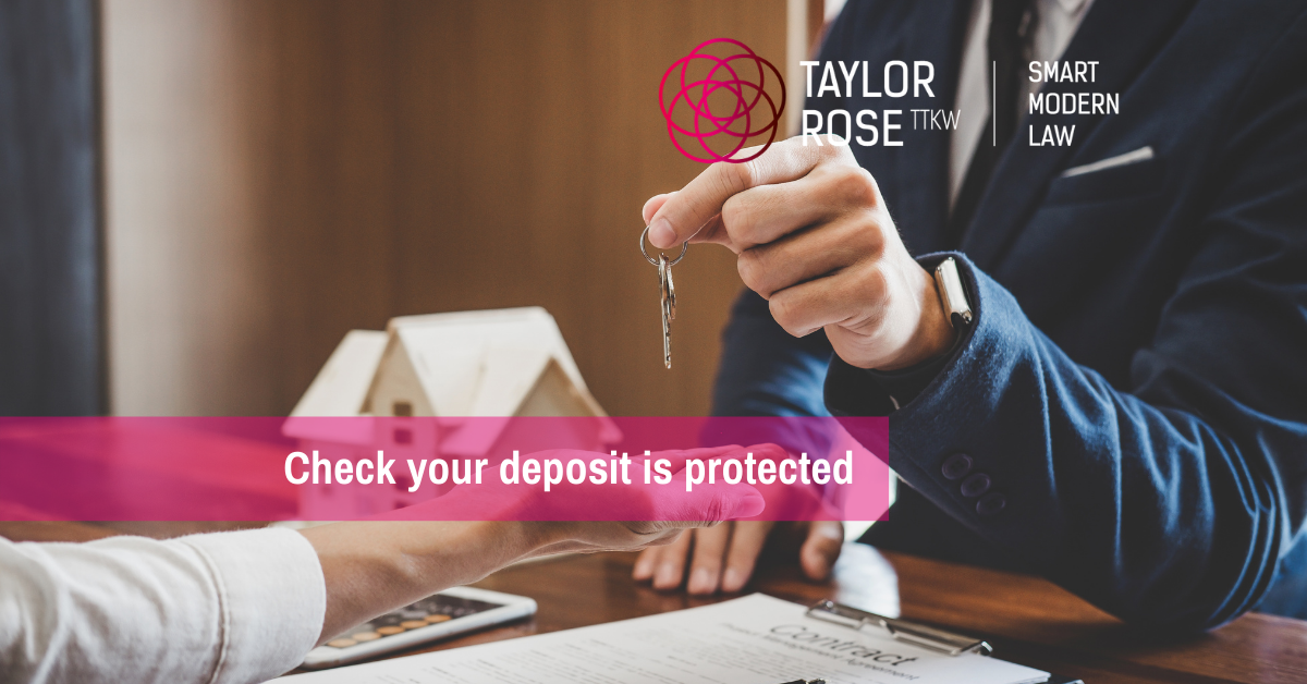 Deposit disputes with your landlord