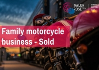 Taylor Rose TTKW advise on sale of family motorcycle business, Balderston Motorcycles
