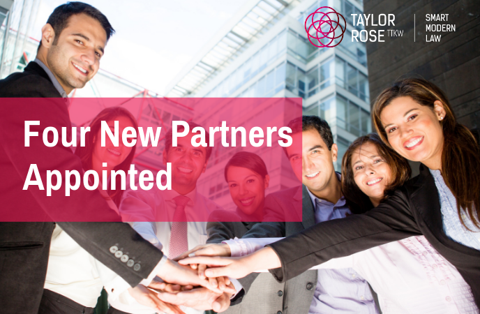 Taylor Rose TTKW Solicitors appoints New Partners