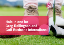 Greg to lay down the law with Golf Business International