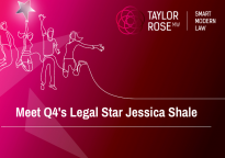 Legal Q4 2020 Star Award Winner - Jessica Shale