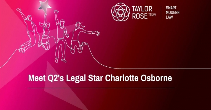 Legal Q2 2020 Star Award Winner - Charlotte Osborne