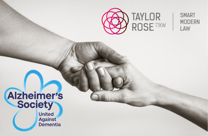 Taylor Rose TTKW's new charity partner for 2020/2021: The Alzheimer's Society