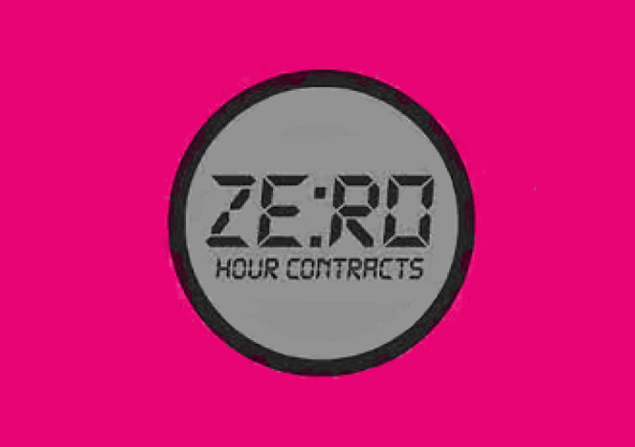 DO YOU HAVE A ZERO HOUR CONTRACT?