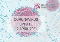 Coronavirus Update: 12th April 2021