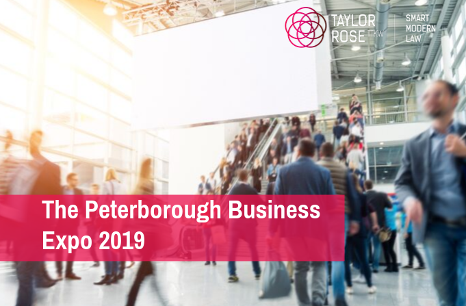 Taylor Rose TTKW attends the Peterborough Business Expo 2019