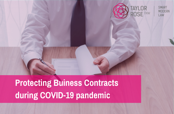 Coronavirus (COVID-19) - FAQ's About Business Contracts