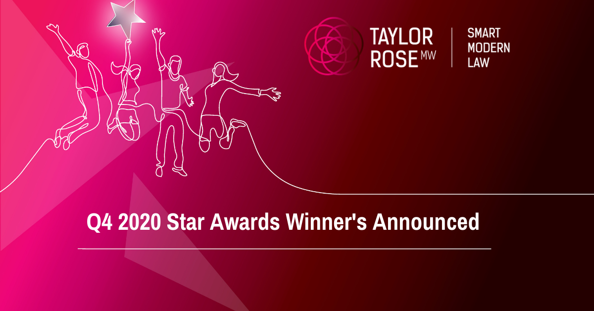 Q4 Star Award Winner's Announced
