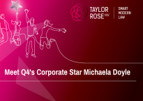 Corporate Q4 2020 Star Award Winner - Michaela Doyle