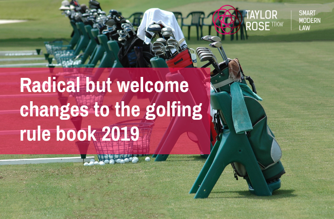 2019 New Rules of Golf