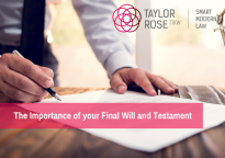What is the importance of your Final Will and Testament?