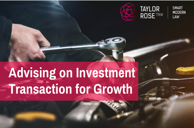 Taylor Rose TTKW Advises on investment transaction for expanding Peterborough business