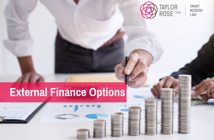 What Financial options are avaliable from outside your business?
