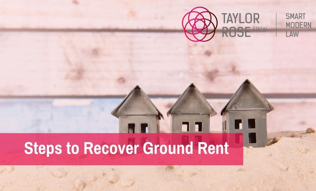 How to Recover Ground Rent?