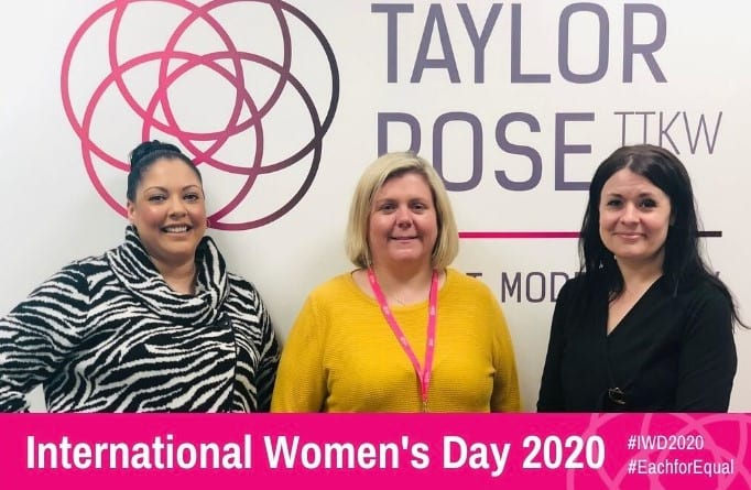 Taylor Rose TTKW Celebrates International Women's Day 2020