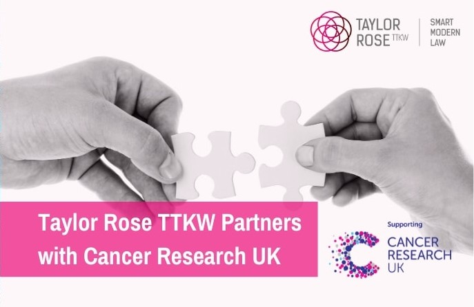 Taylor Rose TTKW Partners with Cancer Research